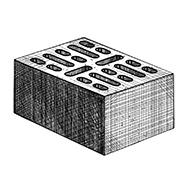 "Блок 18-щелевой 380x250x140 мм Profi ''Фабрика ""Готика""''"