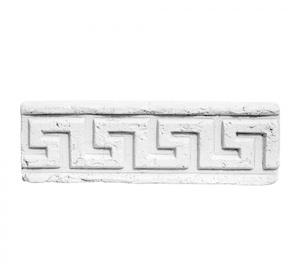 Карниз ''Меандр широкий'' линейный 437x200 ''Идеальный камень''