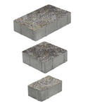 """Тротуарные плиты """"СТАРЫЙ ГОРОД"""" - Б.1.Ф.6 (Коллекция """"Искусственный камень"""") 260x160, 160x160, 160x100 ''ВЫБОР''"""
