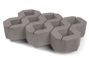 Газонный камень (1РД10) 600x400100 мм  ''Нобетек''
