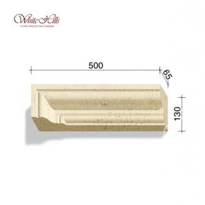 Наличники и карнизы 720-X1 – 724-X1 65 мм ''WhiteHills''