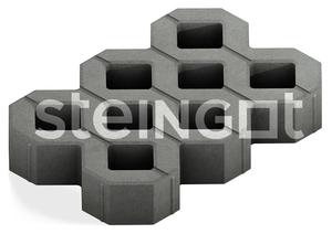Экопарковка (газонная решетка) 100 мм ''STEINGOT''