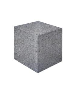 """Ландшафтные элементы КУБ-1 (Коллекция """"Мозаичный бетон"""") 600x600x600 ''ВЫБОР''"""