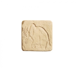 Вставка ''Наскальная живопись'' №5 145x145 ''Идеальный камень''