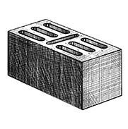 "Блок 7-щелевой 390x190x190 мм Profi ''Фабрика ""Готика""''"
