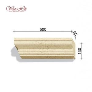Наличники и карнизы 725-X1 – 729-X1 65 мм ''WhiteHills''