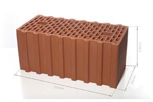 Поризованный керамический блок 51 14.3 НФM100/125 510x250x219 ''BRAER''