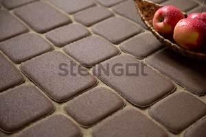 Тротуарная плитка Классика коричневая 60 мм Классика ''Steingot''