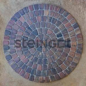 """Тротуарная плитка Классика круговая """"Бленд"""" 60 мм Классика круговая ''Steingot''"""