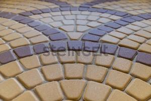 Тротуарная плитка Классика круговая желтая 60 мм Классика круговая ''Steingot''
