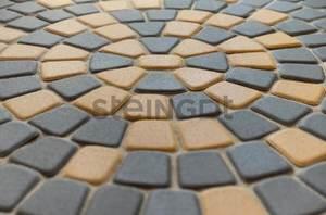 Тротуарная плитка Классика круговая Серая x60 мм Классика круговая ''Steingot''