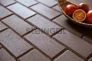 Тротуарная плитка Брусчатка 200*100*40 Коричневая (полный прокрас)  Брусчатка ''Steingot''