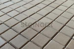 Тротуарная плитка Квадрат 100*100*60 Белый (верхний прокрас)  Квадрат ''Steingot''