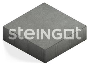 """Тротуарная плитка """"Плита квадрат"""" 300x300, 80 мм ''STEINGOT''"""