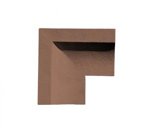 Обход окна ''Шамот'' угловой 255x257x157 ''Идеальный камень''