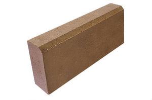 Бордюрный камень тротуарный 500x200x80 ''МАСТЕРСТРОЙ''
