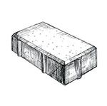 "Брусчатка 200x100x100 мм Granite ''Фабрика ""Готика""''"