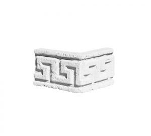 Карниз ''Меандр широкий'' угловой 159x201 ''Идеальный камень''