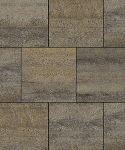 """Тротуарные плиты """"КВАДРУМ"""" - Б.6.К.6 (Коллекция """"Искусственный камень"""") 400x400 ''ВЫБОР''"""