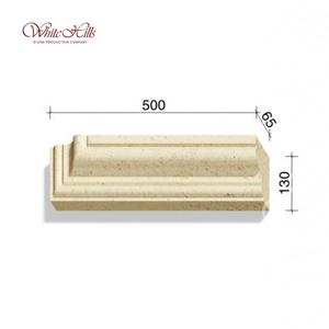 Наличники и карнизы 720-X3 – 724-X3 65 мм ''WhiteHills''