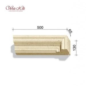 Наличники и карнизы 720-X2 – 724-X2 65 мм ''WhiteHills''