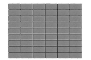 Тротуарная плитка Прямоугольник 70 мм ''BRAER''