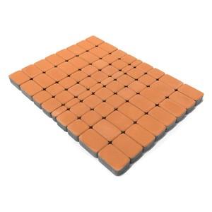 Тротуарная плитка Классико, Корраловый (60 мм) 57x115, 115x115, 172x115 ''BRAER''