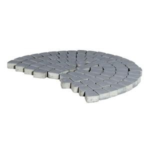 Тротуарная плитка Классико круговая, Грифильный (60 мм) 73x110x115 ''BRAER''