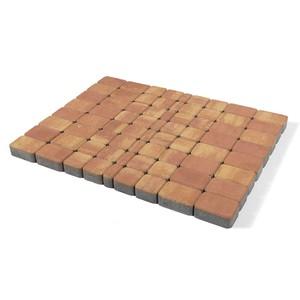 """Тротуарная плитка Классико, """"Рассвет"""" (60 мм) 57x115, 115x115, 172x115 ''BRAER''"""