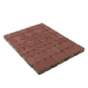 Тротуарная плитка Классико, Винный (60 мм) 57x115, 115x115, 172x115 ''BRAER''