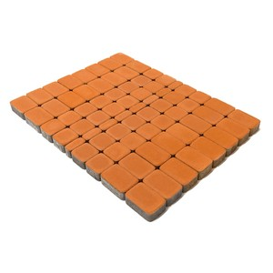 Тротуарная плитка Классико, Янтарный (60 мм) 57x115, 115x115, 172x115 ''BRAER''