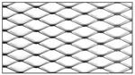 Сетка штукатурная металлическая (рулон 1м*10м)  ''KAMROCK''
