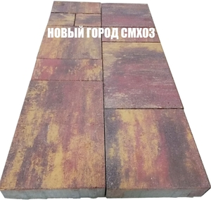 Новый город Color mix 300x450x80 | 150x300x80 | 150x150x80 | 300x300x80 ''Лидер''