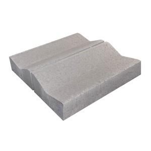 Водоотводный бетонный дорожный лоток Б1.18.50 серый 1000x500 ''BRAER''