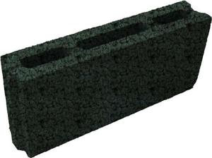 Камень стеновой перегородочный керамзито-бетонный КсПКБ-3Пс 400x80x190 ''Лидер''