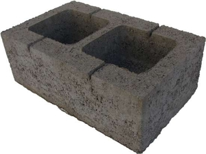 Камень стеновой керамзито-бетонный КсЛКБ-2Пс 490x300x185 ''Лидер''