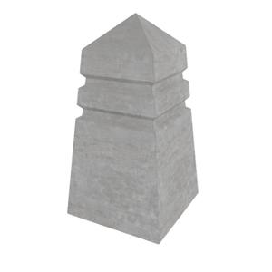 """Ограничитель сигнальный """"Пирамида"""" 430x430x800 мм ''Notabeton''"""