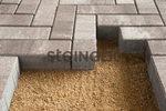 "Тротуарная плитка Паркет ""Клифф"" 80x240x60 мм Паркет ''Steingot''"