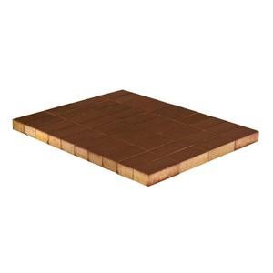 Тротуарная плитка Прямоугольник, Коричневый (60 мм) 200x100 ''BRAER''