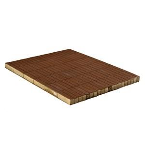 Тротуарная плитка Прямоугольник, Коричневый (60 мм) 200x50 ''BRAER''
