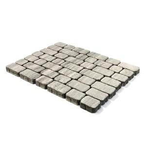 """Тротуарная плитка Ривьера, """"Туман"""" (60 мм) 132x132, 165x132, 198x132, 231x132, 265x132 ''BRAER''"""