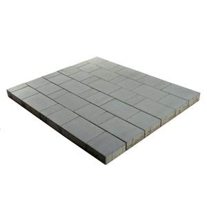 "Тротуарная плитка Старый город ""Ландхаус"", Серый (60 мм) 80x160, 160x160, 240x160 ''BRAER''"