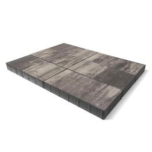 "Тротуарная плитка Сити, ""Туман"" (80 мм) 600x300 ''BRAER''"