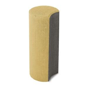 Бетонный столбик ограждения Палисад песочный 100x100x250 мм  ''BRAER''