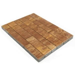 """Тротуарная плитка Домино, """"Каньон"""" (60 мм) 280x120, 360x120, 480x120, 480x160, 640x160 ''BRAER''"""