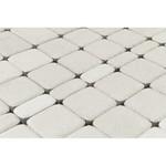 Тротуарная плитка Классико, Белый (60 мм) 57x115, 115x115, 172x115 ''BRAER''