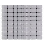 Тротуарная плитка Классико, Грифельный (60 мм) 57x115, 115x115, 172x115 ''BRAER''