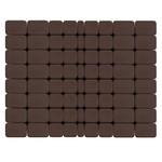 Тротуарная плитка Классико, Коричневый (60 мм) 57x115, 115x115, 172x115 ''BRAER''