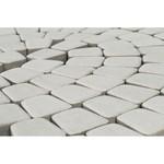 Тротуарная плитка Классико круговая, Белый (60 мм) 73x110x115 ''BRAER''