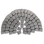 Тротуарная плитка Классико круговая, Серый (60 мм) 73x110x115 ''BRAER''